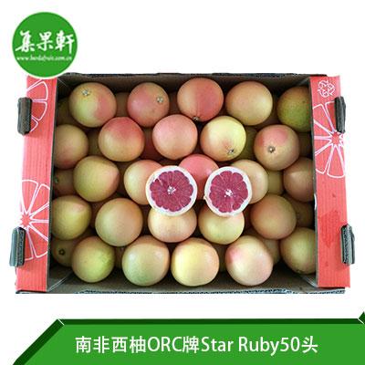 南非进口红宝石西柚Star Ruby品种 | ORC牌17公斤50头规格