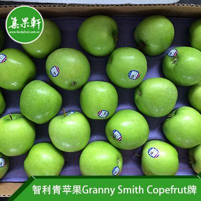 智利进口青苹果Granny Smith品种 | Copefrut牌19公斤100头规格