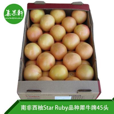 南非进口红宝石西柚Star Ruby品种 | Naba犀牛牌17公斤45头