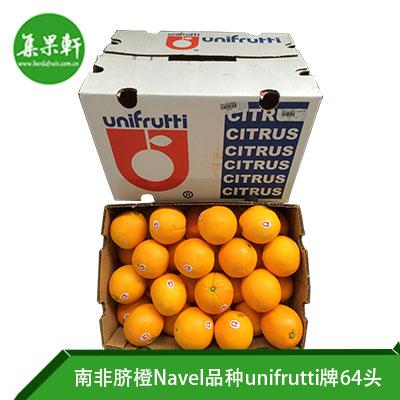 南非进口脐橙Navel品种 | unifrutti牌15公斤64头规格