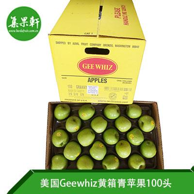 美国Geewhiz黄箱青苹果100头
